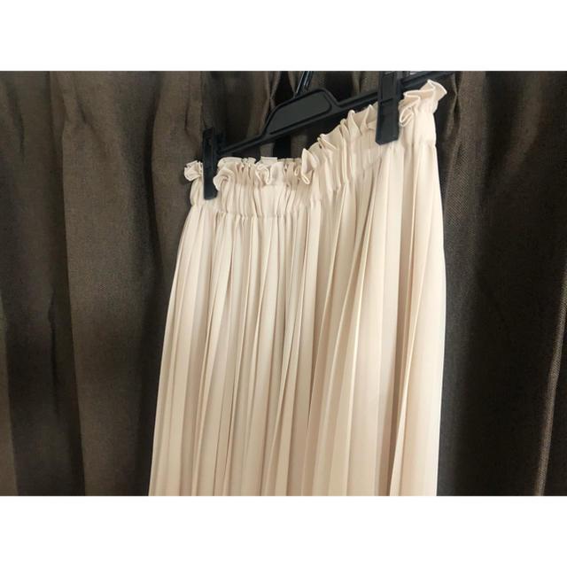 31 Sons de mode(トランテアンソンドゥモード)の【美品】トランテアン プリーツスカート ロングスカート チュールスカート レディースのスカート(ロングスカート)の商品写真