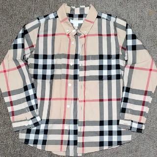 バーバリー(BURBERRY)のBURBERRY キッズ 128 ノバチェックシャツ ビッグノバ(ドレス/フォーマル)