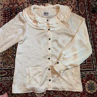 ケイティー(Katie)のkatie⭐︎フリルブラウスAMO着用中村里砂私服西もなか着用白石麻衣(シャツ/ブラウス(長袖/七分))