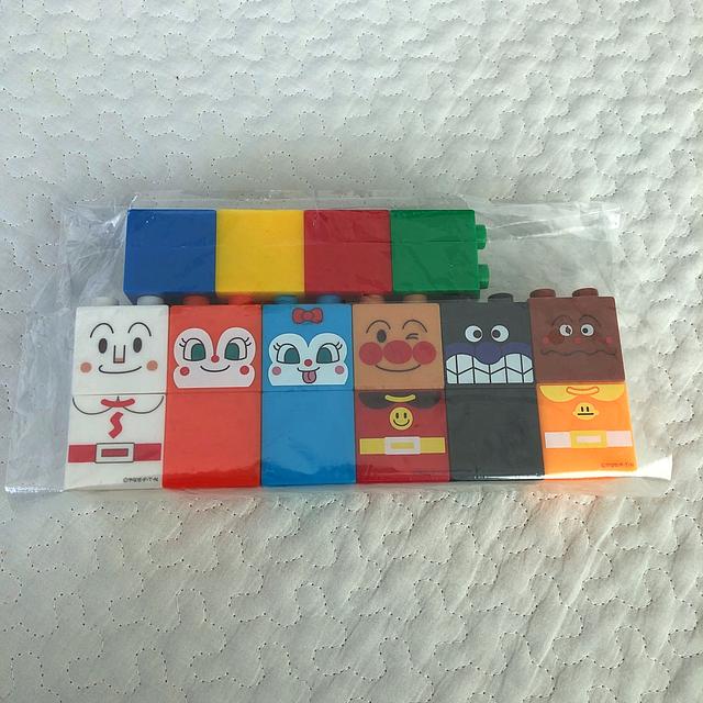 アンパンマン(アンパンマン)のアンパンマン  はじめてのブロック キッズ/ベビー/マタニティのおもちゃ(積み木/ブロック)の商品写真