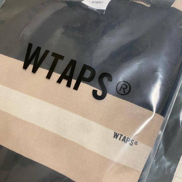 W)taps(ダブルタップス)のWTAPS VATOS LS ボーダー ダブルタップス メンズのトップス(Tシャツ/カットソー(七分/長袖))の商品写真