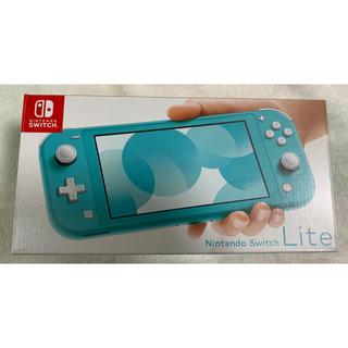 Nintendo Switch - Nintendo Switch Lite 任天堂スイッチ ライト ターコイズ