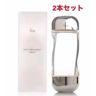 イプサ(IPSA)のIPSA 新品未使用 イプサ ザ・タイムRアクア化粧水 200ml x2本セット(化粧水/ローション)
