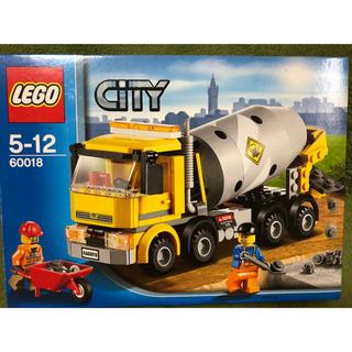 Lego - LEGO コンクリートミキサー車 60018