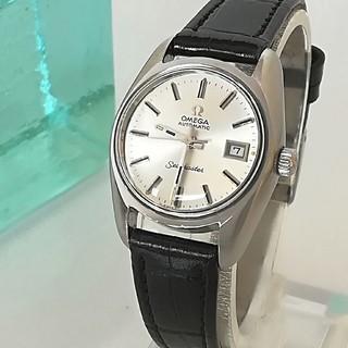 OMEGA - ⭐OH済 綺麗 オメガ自動巻 シーマスター レディースウォッチ時計 母の日 美品