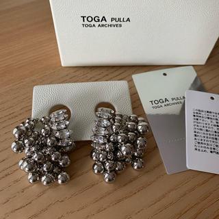 TOGA - 未使用 toga pulla トーガプルラ ビーズ イヤリング