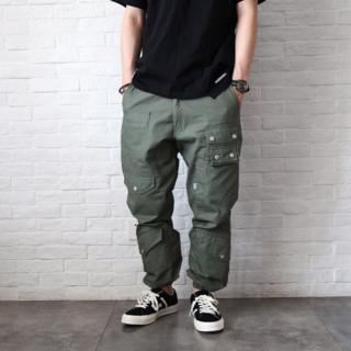 W)taps - WTAPS Modular 01/Trousers.Cotton.Ripstop
