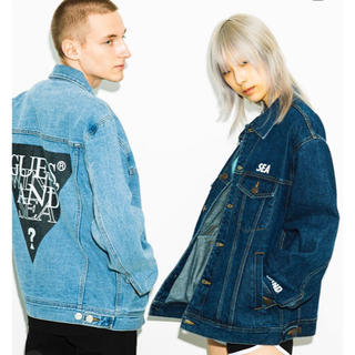 GUESS - 最安値GUESS × WIND AND SEA OVERSIZE DEINM