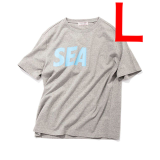 Supreme - 【 Lサイズ】GUESS × WIND AND SEA TEE GRAY コラボ