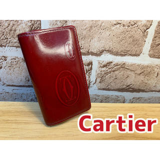Cartier - ★Cartier カルティエ★6連キーケース レッド エナメル