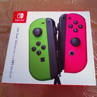 ニンテンドースイッチ(Nintendo Switch)のNintendo Switch Joy-Con ネオングリーンネオンピンク(その他)