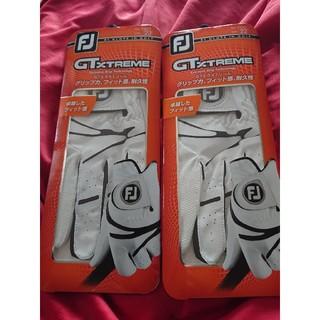 FootJoy - ゴルフ グローブ フットジョイ新品22サイズ 2枚 国内販売品ホワイト