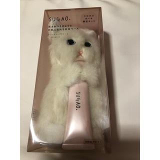 ロートセイヤク(ロート製薬)のSUGAO スノーホイップクリーム ロート製薬 シロ猫肌 猫ポーチ 化粧下地(化粧下地)