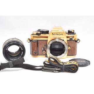 極良品 ニコン Nikon FA ゴールド nikkor 50mm F1.4(フィルムカメラ)