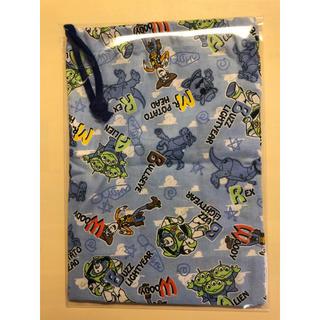 トイストーリー(トイ・ストーリー)のトイストーリー コップ袋 新品 入園 入学 男の子(ランチボックス巾着)