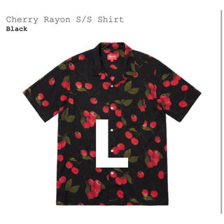 Supreme - supreme cherry rayon shirt L