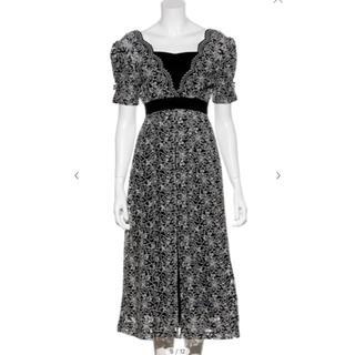 リリーブラウン(Lily Brown)のレイヤード刺繍チュールワンピース(ロングワンピース/マキシワンピース)