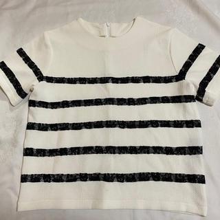 ラグナムーン(LagunaMoon)のLagunamoon デザインカットソー(カットソー(半袖/袖なし))