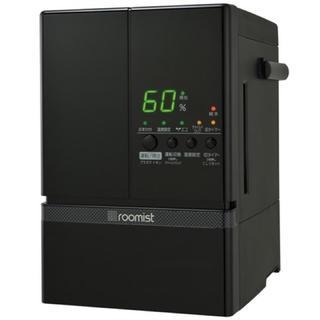 ミツビシ(三菱)のスチームファン蒸発式加湿器 roomist SHE60ND-K [漆黒] (加湿器/除湿機)
