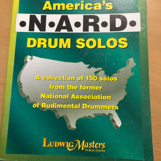 Snare Drum America's NARD DRUMS SOLOS(スネア)