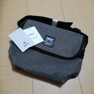 アネロ(anello)の♪anello ナノ・ユニバース メッセンジャーバッグ ショルダー 新品未使用 (メッセンジャーバッグ)