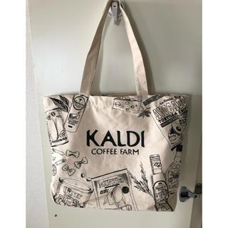 KALDI - 【未使用】KALDIキャンバス地トートバッグ