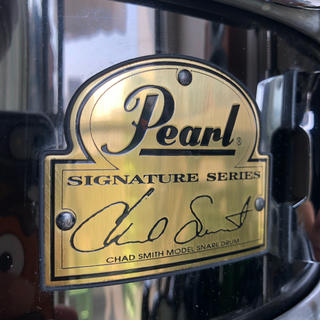 パール(pearl)のpearl chad smith signature snare 14×5(スネア)