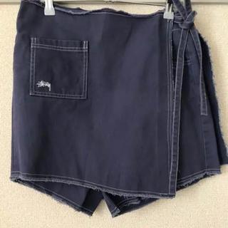 STUSSY - stussy ラップスカート