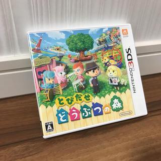 任天堂 - 【美品】とびだせ どうぶつの森 3DS 箱あり 値下げは要相談。