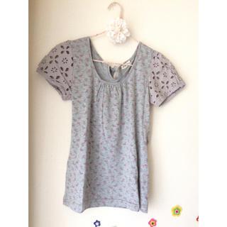 エージープラス(a.g.plus)の花柄Tシャツ(Tシャツ(半袖/袖なし))
