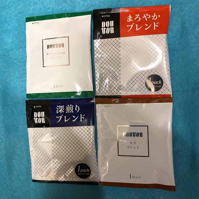 ドリップコーヒー 「ドトールコーヒー」☆4種類×6☆「24袋」 食品/飲料/酒の飲料(コーヒー)の商品写真