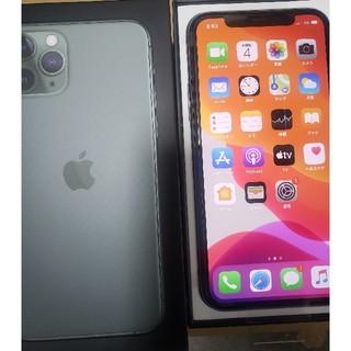 iPhone - 値下げ iPhone 11 Pro ミッドナイトグリーン 256GB