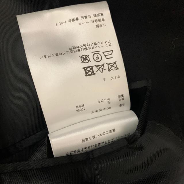 JOHN LAWRENCE SULLIVAN(ジョンローレンスサリバン)の美品 18AW ジョンローレンスサリバン ダブルチェスターコート 【1215】 メンズのジャケット/アウター(チェスターコート)の商品写真