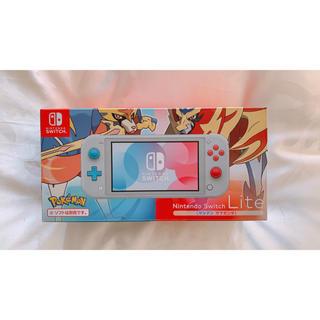 任天堂 - Nintendo Switch Lite ザシアン・ザマゼンタ 任天堂