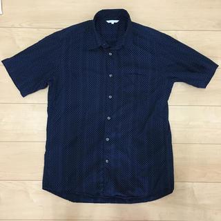 ユニクロ(UNIQLO)の《ユニクロ》半袖シャツ ドット 水玉(シャツ)