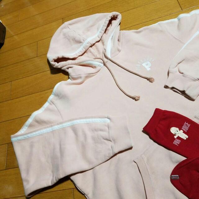 PINK HOUSE(ピンクハウス)のピンクハウス トレーナーと靴下(新品)の2点セット レディースのトップス(トレーナー/スウェット)の商品写真