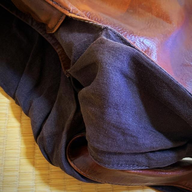 mina perhonen(ミナペルホネン)のミナ ペルホネン ウサバッグ usa bag レザー 牛革 レディースのバッグ(ショルダーバッグ)の商品写真