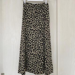 LOWRYS FARM - ローリーズファーム ハナクルミボタンAラインスカート