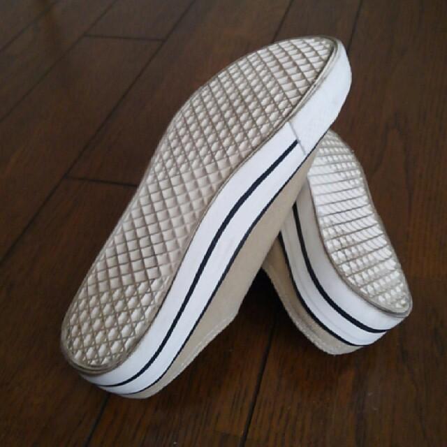 しまむら(シマムラ)のしまむら×MUMU コラボスニーカー レディースの靴/シューズ(スリッポン/モカシン)の商品写真