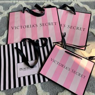 Victoria's Secret - ヴィクトリアシークレット  ピーチジョン   ショップ袋