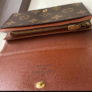 LOUIS VUITTON - 正規品ルイヴィトンL字ファスナー モノグラム折財布
