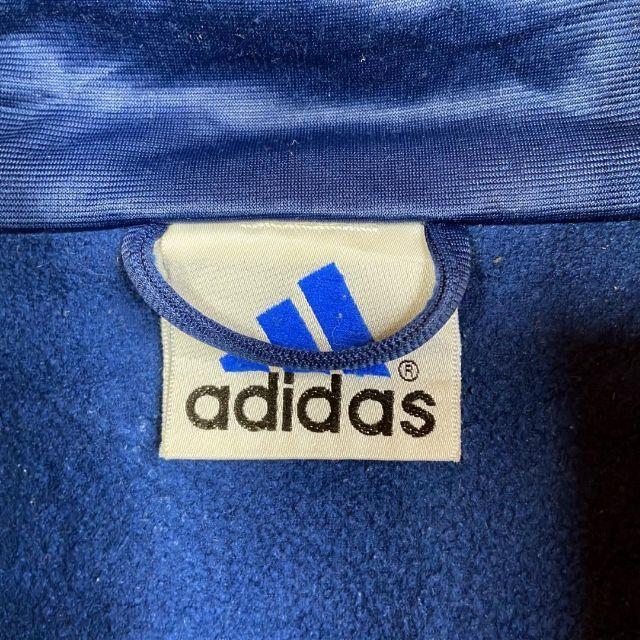 adidas(アディダス)の【激レア】アディダス 刺繍ロゴ サイドライン トラックトップ L メンズのトップス(ジャージ)の商品写真