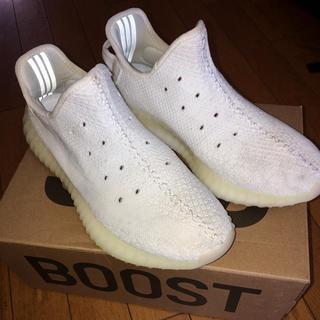 アディダス(adidas)のYEEZY BOOST 350 V2 WHITE 紐なし(スニーカー)