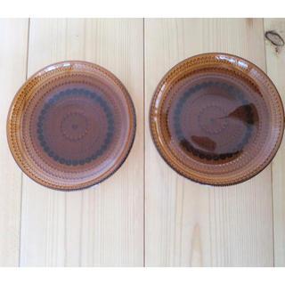 イッタラ(iittala)のカステへルミ プレート ブラウン 5枚セット(食器)