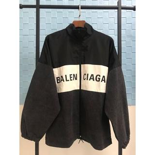 Balenciaga - BALENCIAGAオーバーサイズ ツートーン ロゴ ジャケット