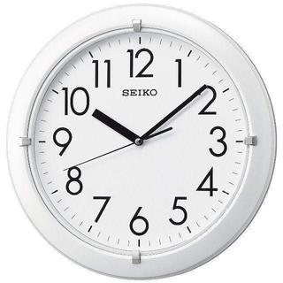 セイコー(SEIKO)のセイコー クロック 掛け時計 アナログ 白 パール KX621W(掛時計/柱時計)
