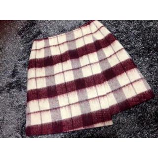 マーキュリーデュオ(MERCURYDUO)のマーキュリーチェックジャギースカート(ミニスカート)