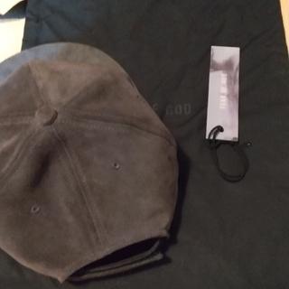 フィアオブゴッド(FEAR OF GOD)のfearofgod suede cap(キャップ)
