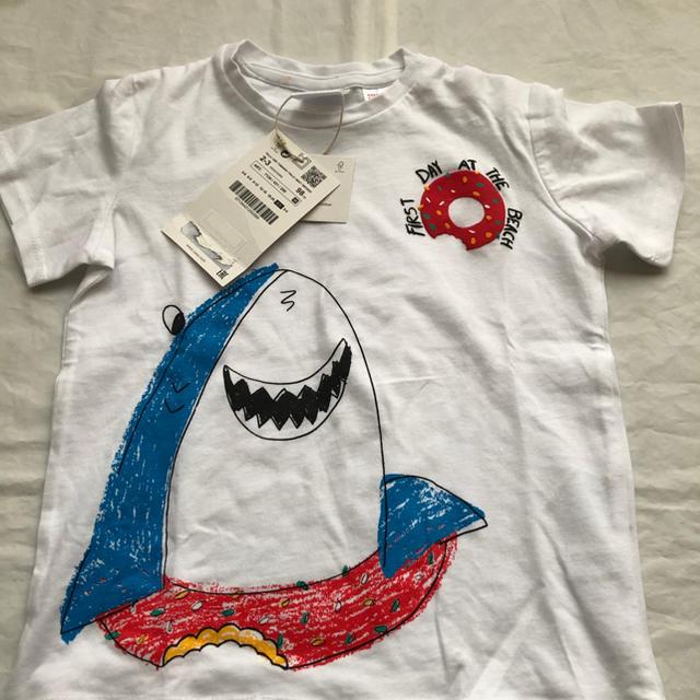 ZARA KIDS(ザラキッズ)のZARA 新品 タグ付 Tシャツ 2-3Y 98㎝ キッズ/ベビー/マタニティのキッズ服男の子用(90cm~)(Tシャツ/カットソー)の商品写真