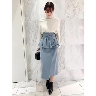 snidel - リボンディテールポンチスカート